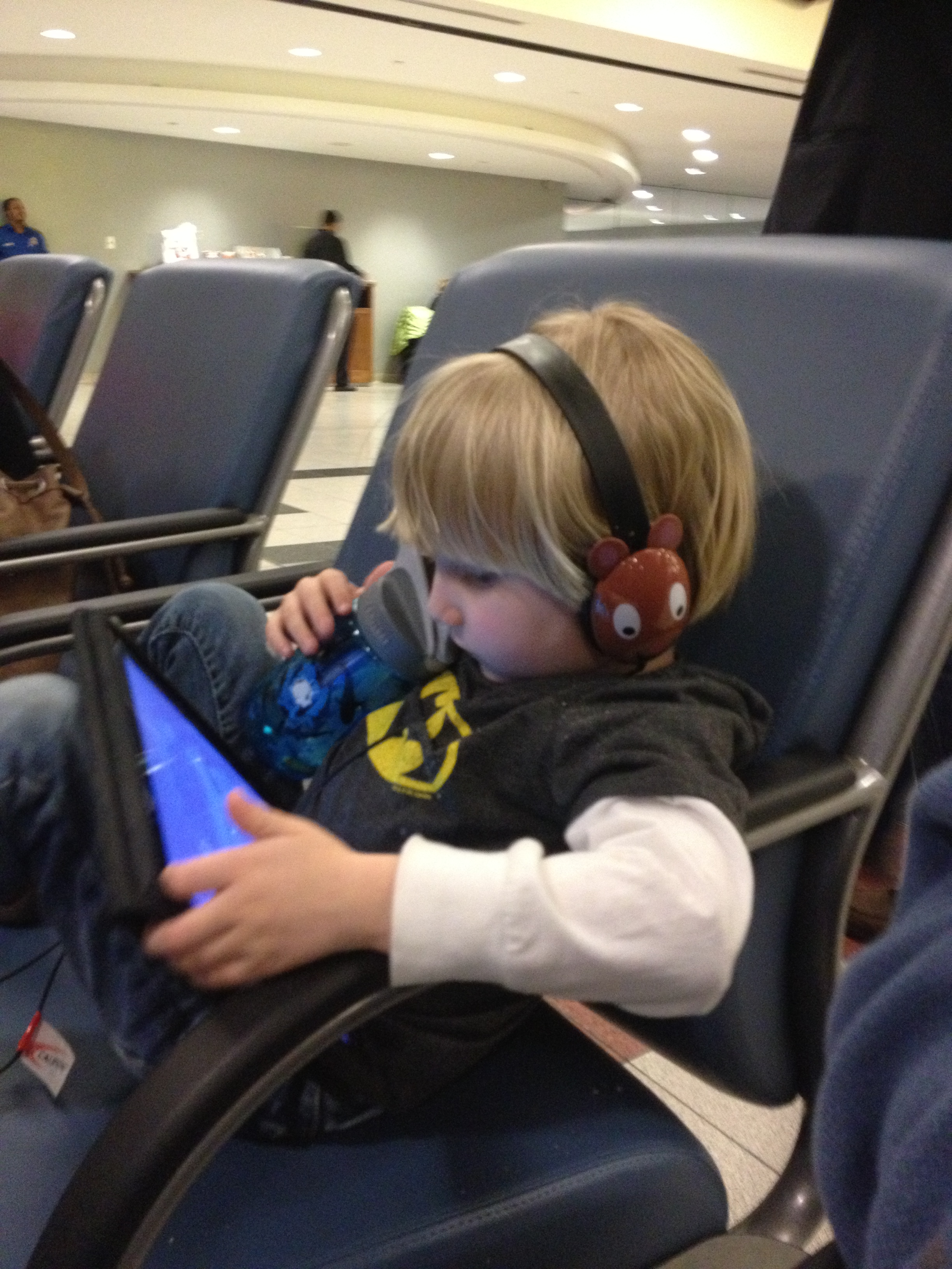 Sometimes the ipad is the only option. For our son he wishes it was always the only option.